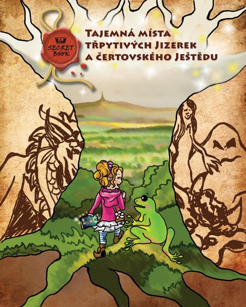 Secret Book + mapa - Tajemná místa třpytivých Jiz. a čertovského Ještědu