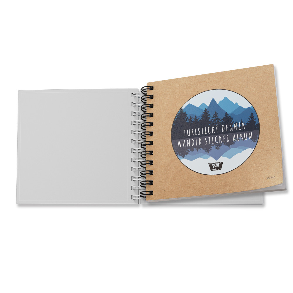 Turistický denník / Wander Sticker Album (No.109)
