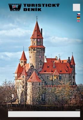 Turistický deník - Motiv: Bouzov