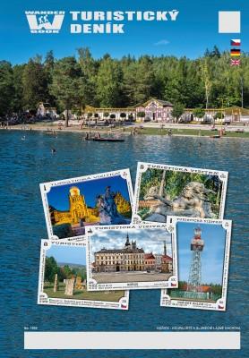 Turistický deník - Motiv: Hořice  - koupaliště a sluneční lázně Dachova