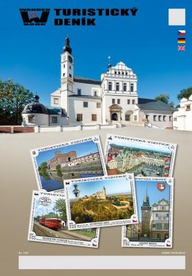 Turistický deník - Motiv: Zámek Pardubice