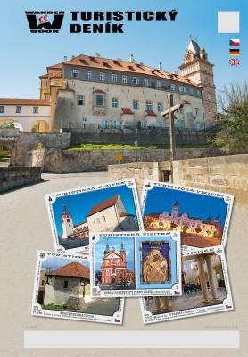 Turistický deník - Motiv: Zámek Brandýs nad Labem