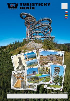 Turistický denník - Motív: Stezka v oblacích Dolní Morava
