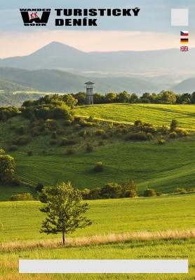 Turistický deník - Motiv: Ústí nad Labem - Erbenova vyhlídka