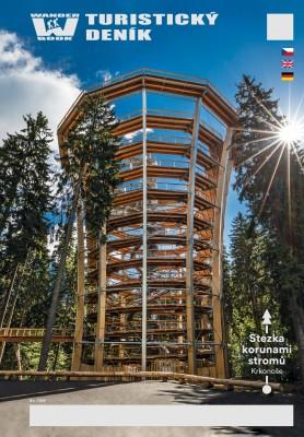Turistický deník - Motiv: Stezka korunami stromů Krkonoše