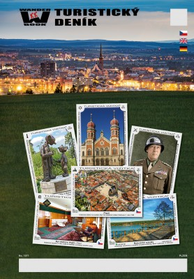 Turistický denník - Motív: Plzeň