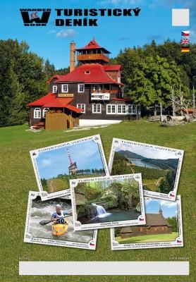 Turistický denník - Motív: Chata Prašivá