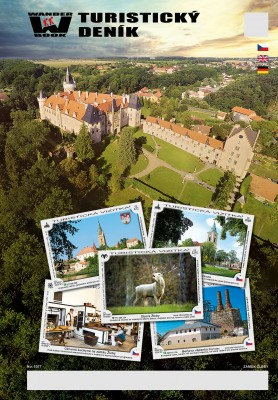 Turistický deník - Motiv: Zámek Žleby