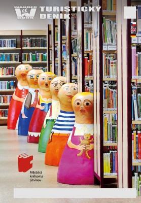 Turistický deník - Motiv: Městská knihovna Litvínov