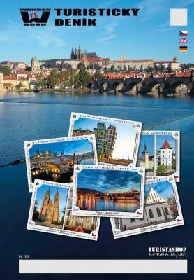 Turistický deník - Motiv: Praha