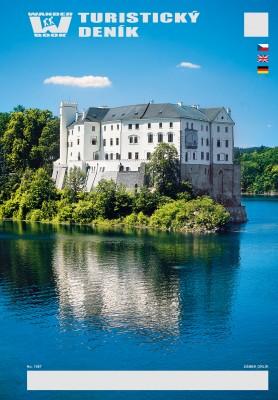 Turistický deník - Motiv: Zámek Orlík