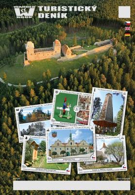 Turistický deník - Motiv: Hrad Kašperk