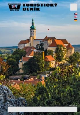 Turistický denník - Motív: Zámek Mikulov