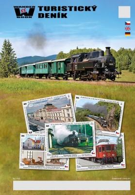 Turistický deník - Motiv: Šumavské lokálky