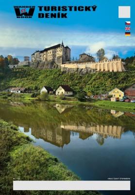 Turistický deník - Motiv: Hrad Český Šternberk