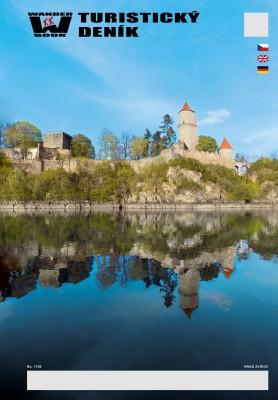 Turistický deník - Motiv: Hrad Zvíkov