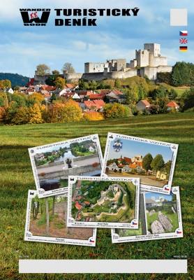 Turistický deník - Motiv: Hrad Rabí