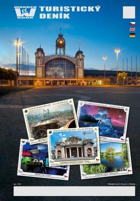 Turistický deník - Motiv: Průmyslový palác v Praze