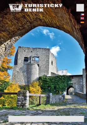 Turistický deník - Motiv: Hrad Hukvaldy