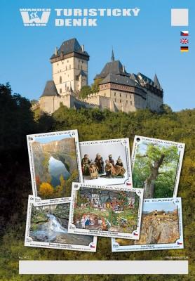 Turistický deník - Motiv: Hrad Karlštejn