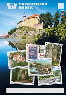 Turistický deník - Motiv: Hrad Ledeč nad Sázavou