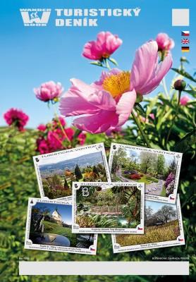 Turistický deník - Motiv: Botanická zahrada hl. města Prahy