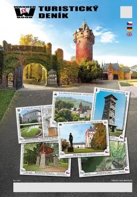Turistický deník - Motiv: Hradec nad Moravicí - Městečko