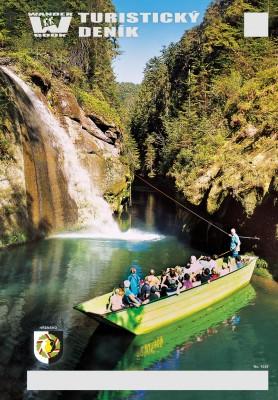 Turistický deník - Motiv: Soutěsky Hřensko