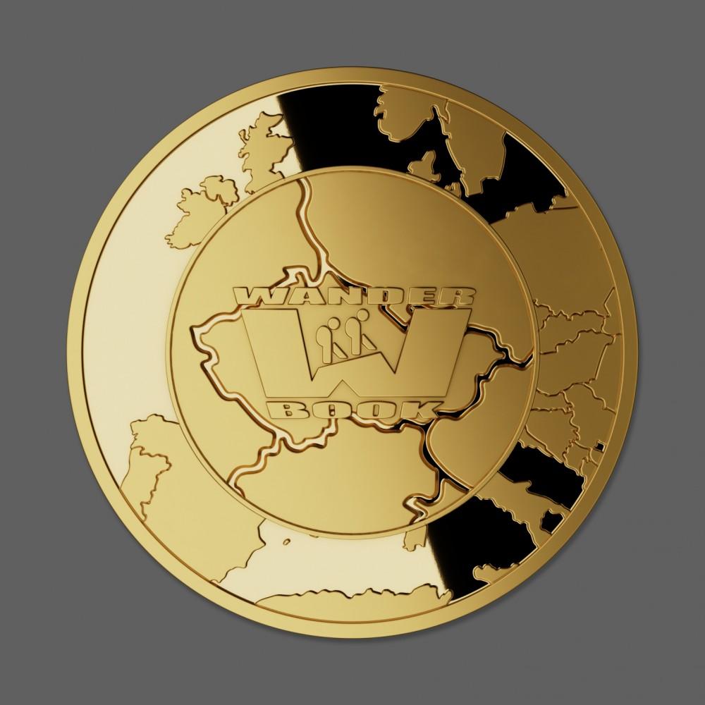 Zlatá medaile 10 let Wander Book