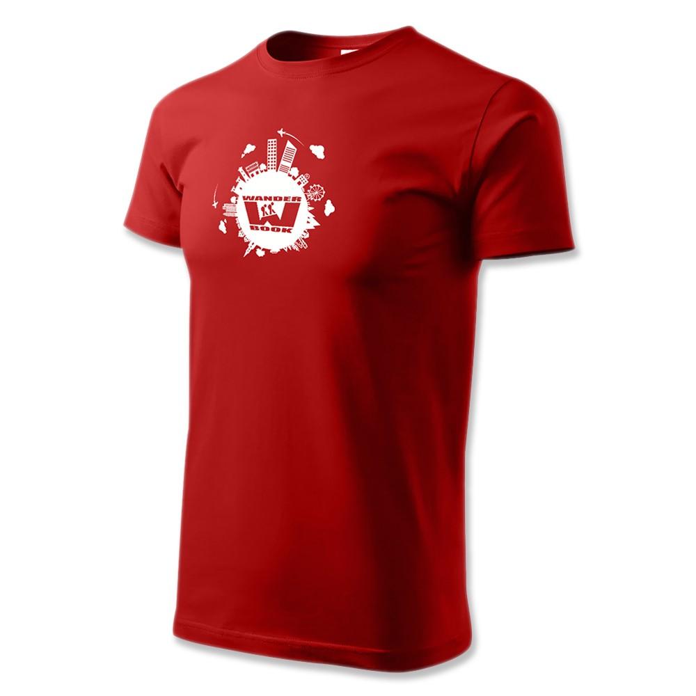 Tričko pánské červené - XXXL