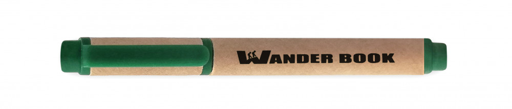 Propisovací tužka malá - recyklovaný papír, zelená