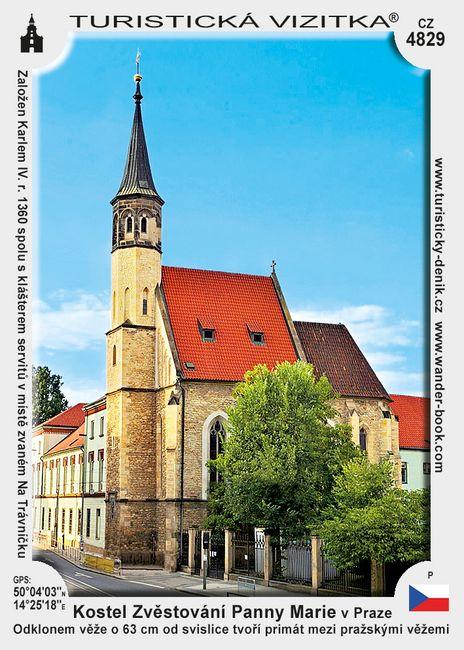 Kostel Zvěstování Panny Marie v Praze