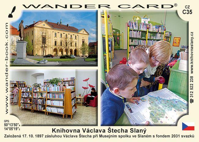 Knihovna Václava Štecha Slaný