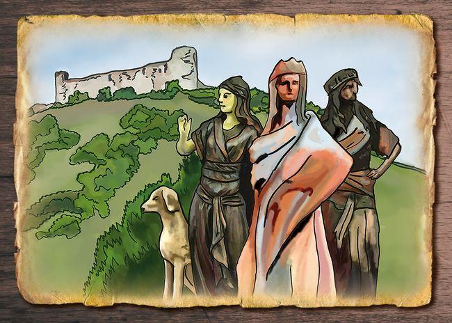 Zkamenělá princezna Jasmína
