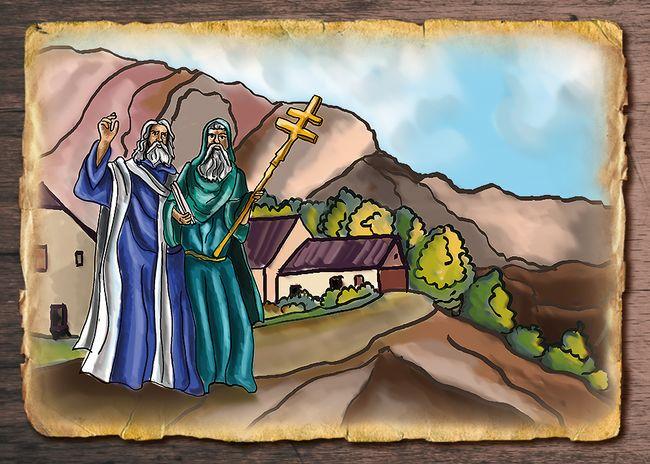 Vznik kostela na Petrově