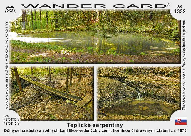 Teplické serpentíny