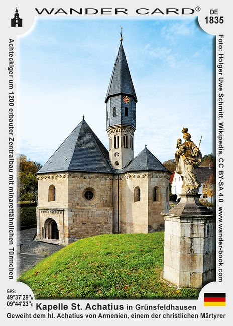 Kapelle St. Achatius in Grünsfeldhausen