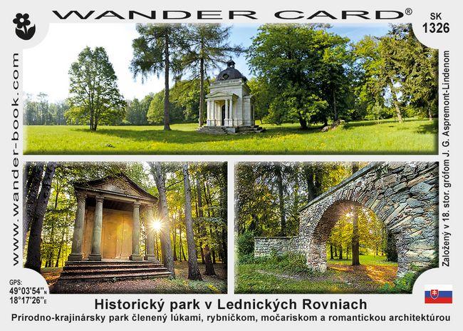Historický park v Lednických Rovniach