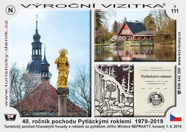 40. ročník pochodu Pytláckými roklemi  1979–2019