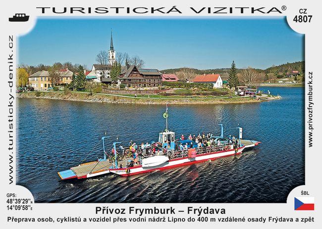 Přívoz Frymburk – Frýdava