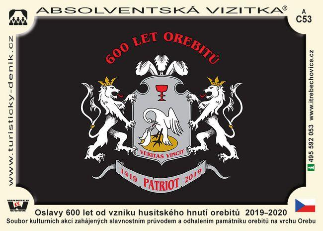 Oslavy 600 let od vzniku husitského hnutí orebitů  2019–2020