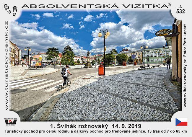 1. Švihák rožnovský  14. 9. 2019