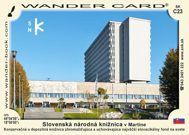 Slovenská národná knižnica v Martine
