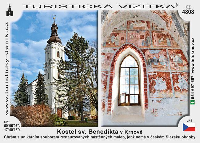 Kostel sv. Benedikta v Krnově