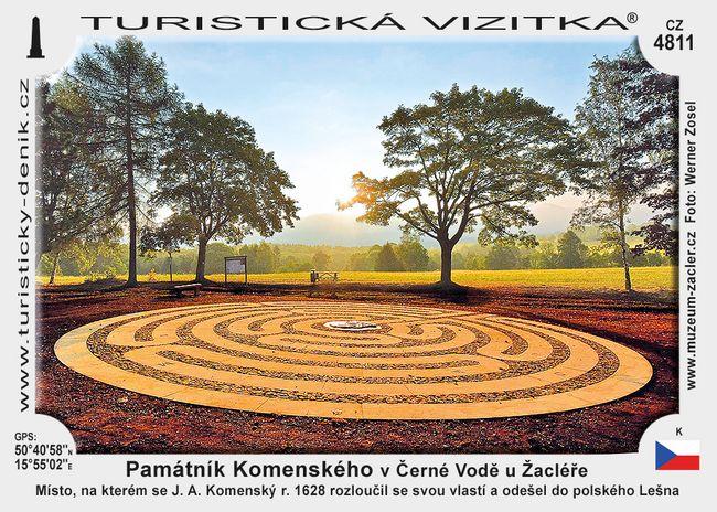 Památník Komenského v Černé Vodě u Žacléře