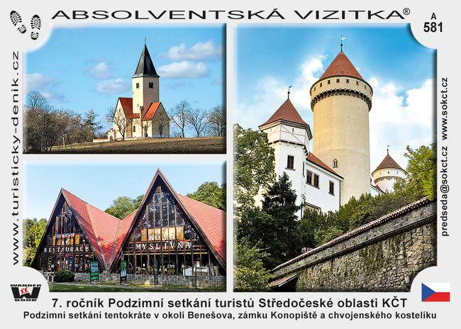7. ročník Podzimní setkání turistů Středočeské oblasti KČT