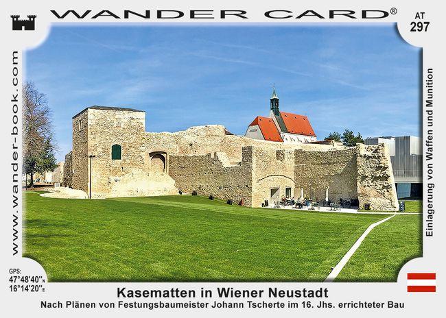 Kasematten in Wiener Neustadt