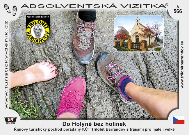 Do Holyně bez holinek