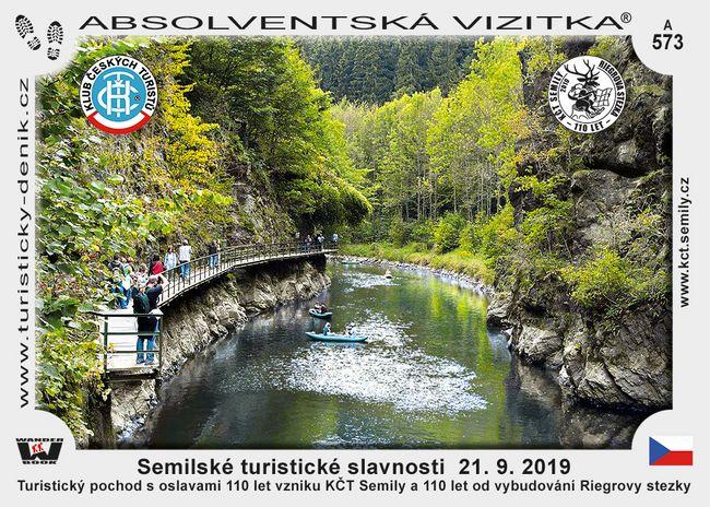 Semilské turistické slavnosti  21. 9. 2019