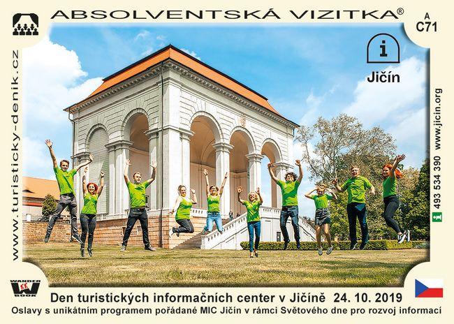 Den turistických informačních center v Jičíně  24. 10. 2019